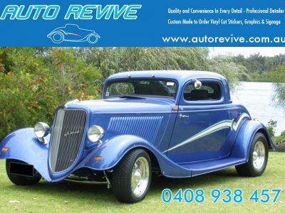 Car Detailing – Maintaining or Selling by AUTO REVIVE