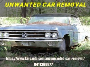 Unwanted Car Removal for cash up to $8999